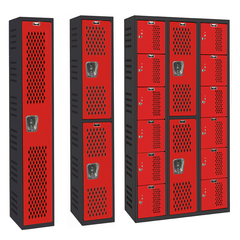 PE/Gym All-Welded Stock Lockers
