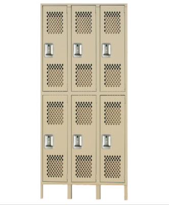 Heavy Duty Ventilated Lockers