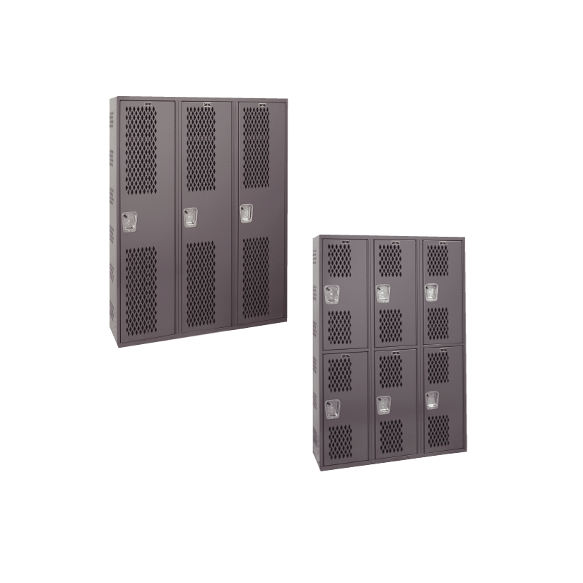 All-Welded Single-Point Ventilated Lockers