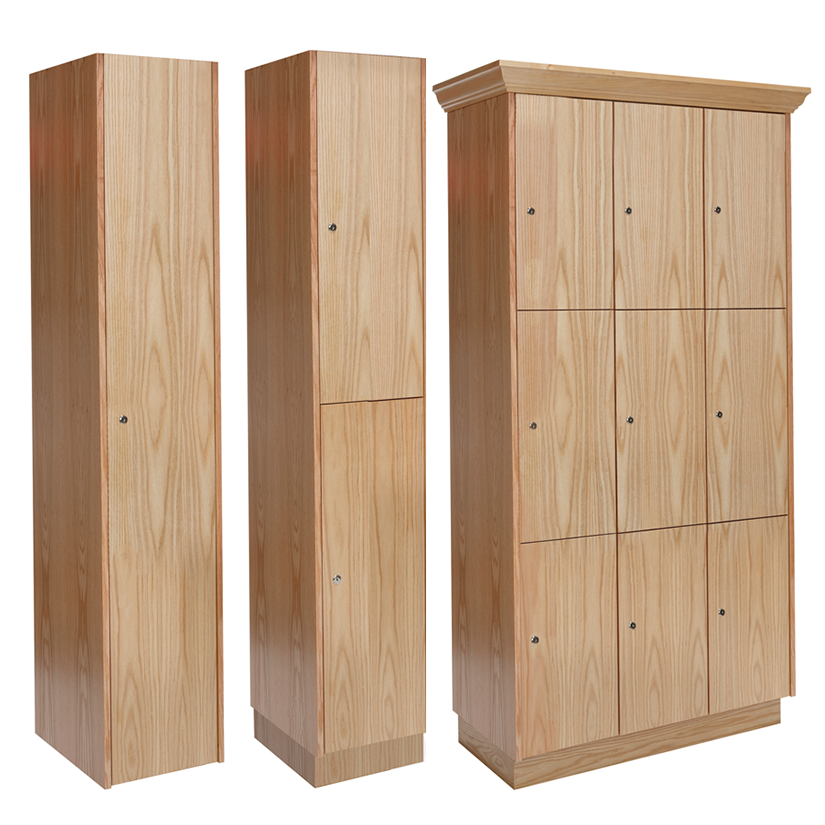 Country Club Wood Lockers