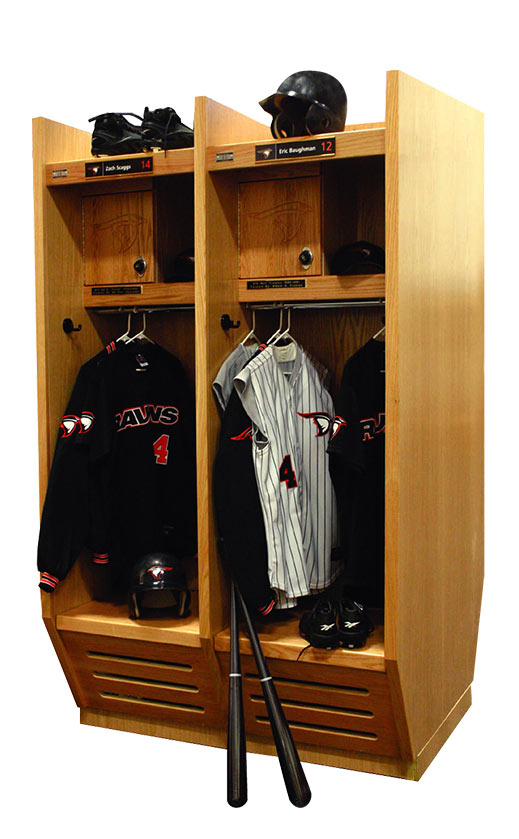 Recruiter Wood Sport Lockers