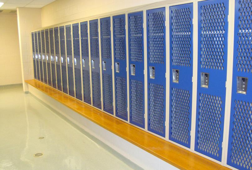 Heavy Duty Ventilated Lockers