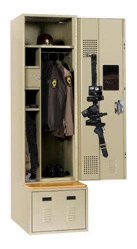 ValorTM Law Enforcement Lockers
