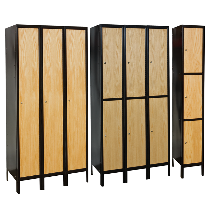 Wood/Metal Hybrid Lockers