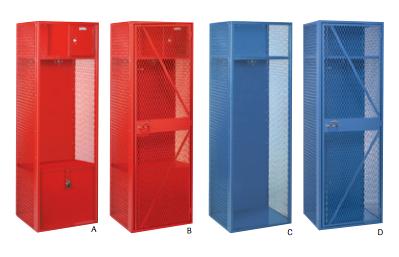 Collegiate & Deluxe Collegiate Lockers